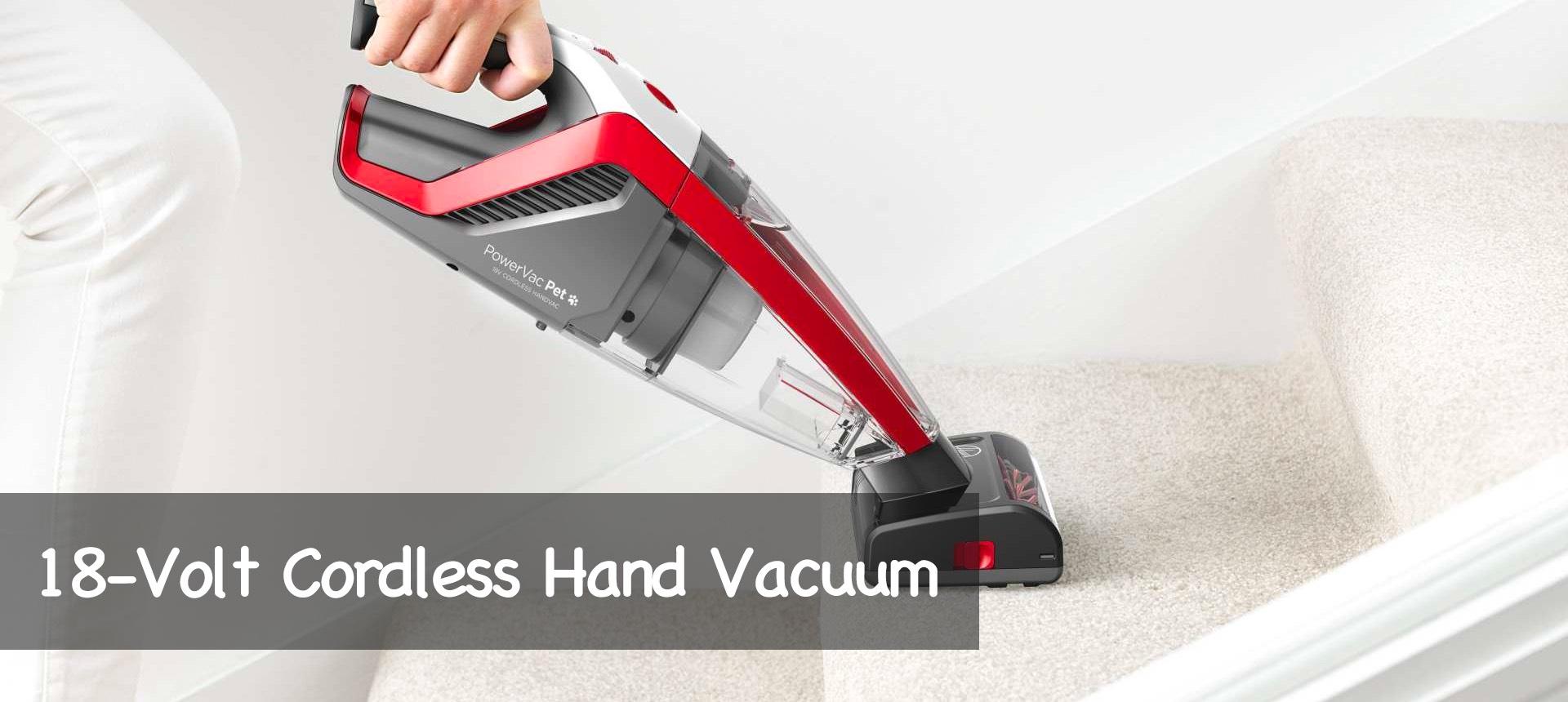 18-Volt Cordless Hand Vacuum
