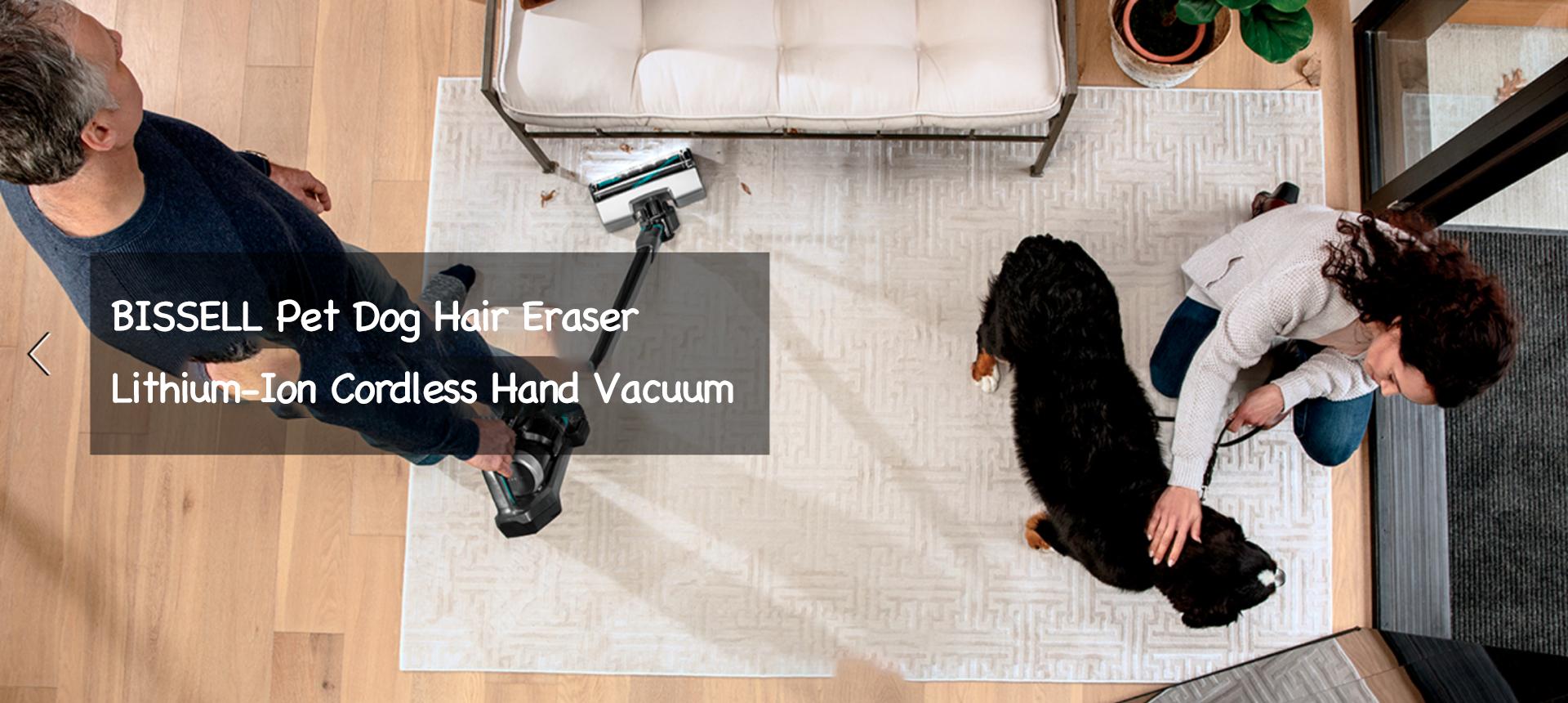 BISSELL Pet Dog Hair Eraser Lithium-Ion Cordless Hand Vacuum
