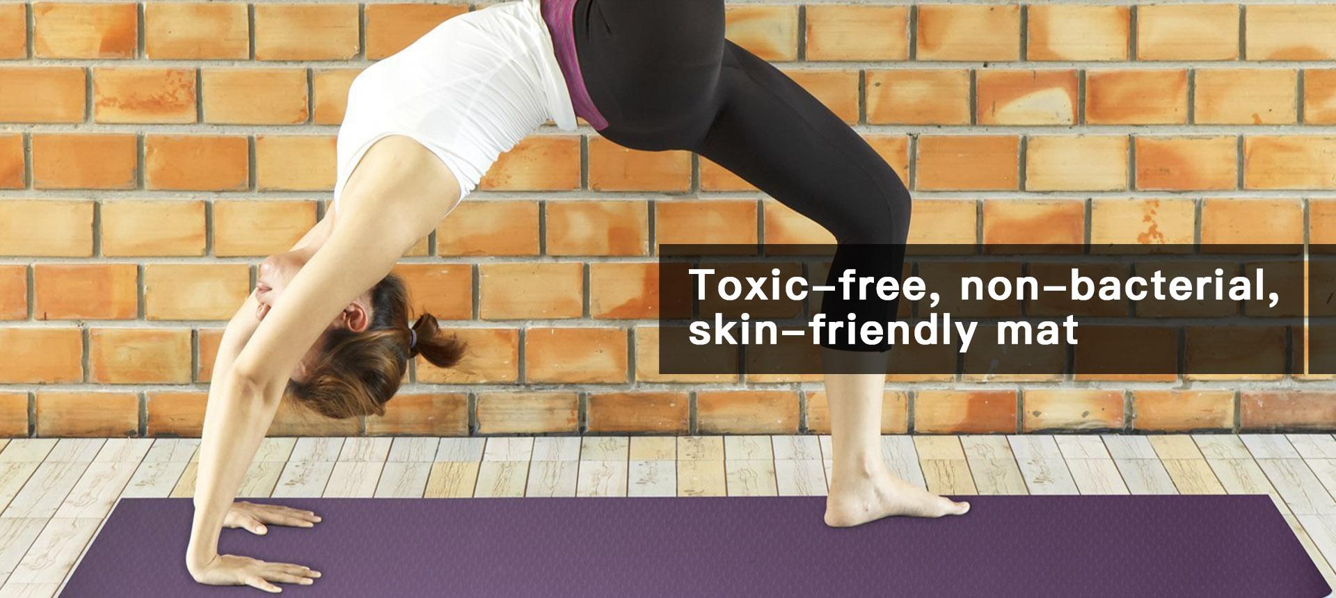 Anti-bacterial High-tech yoga mat