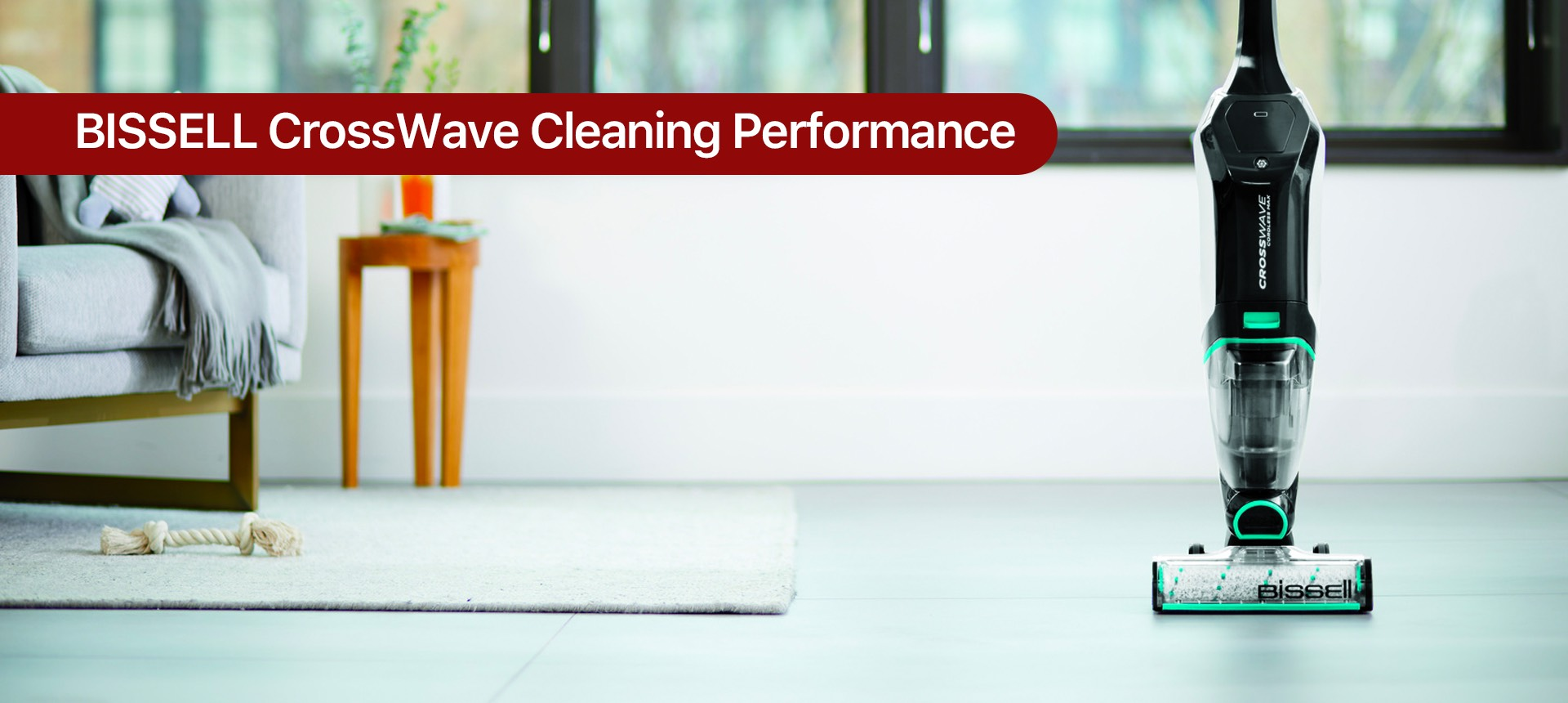 BISSELL CrossWave Cleaning Performance