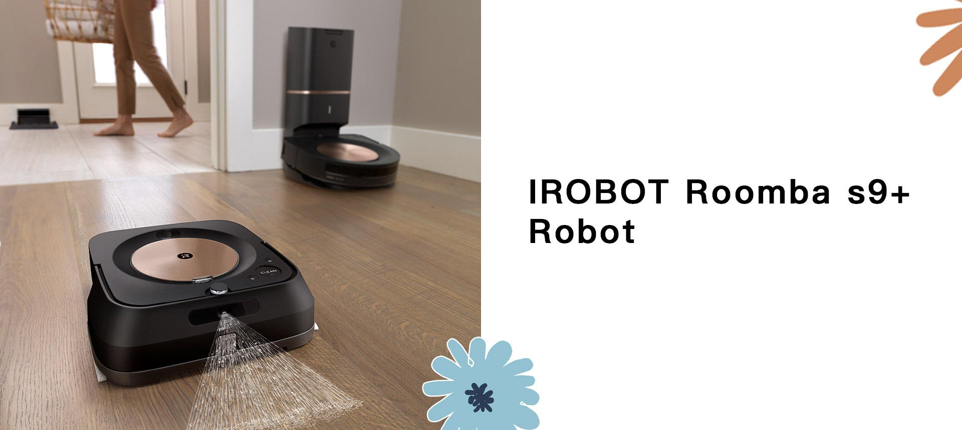 IROBOTRoomba s9+ Best Robot Vacuum