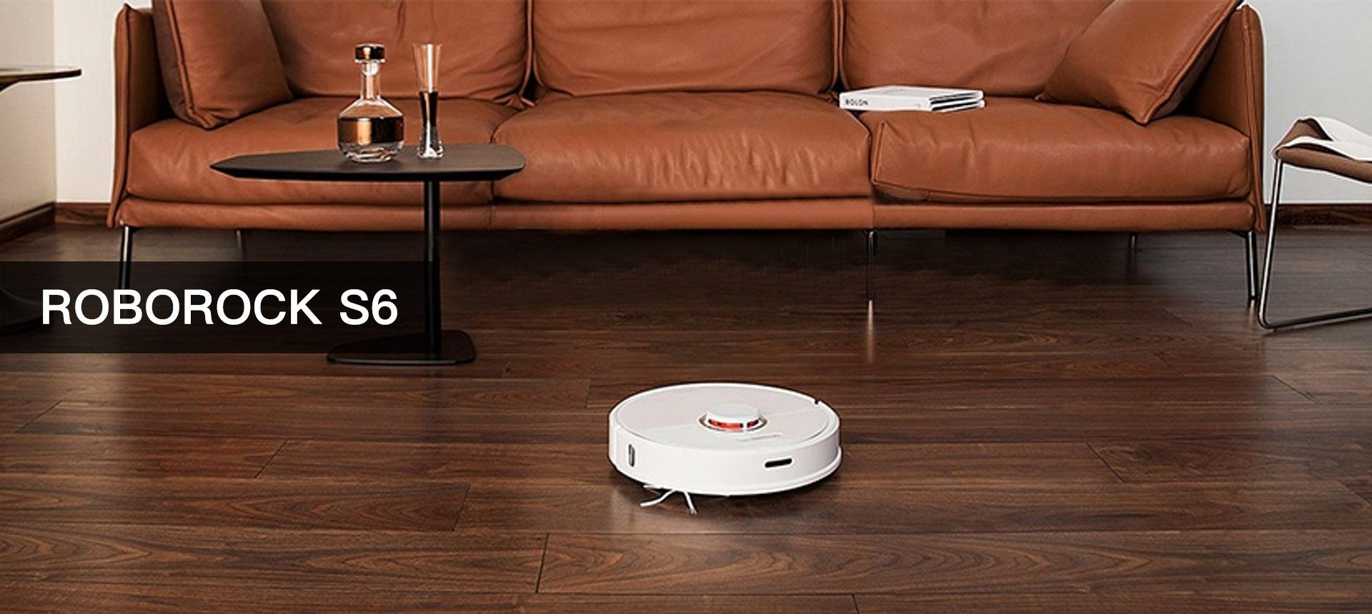 Roborock S6 Robot Vacuum, Robotic Vacuum Cleaner
