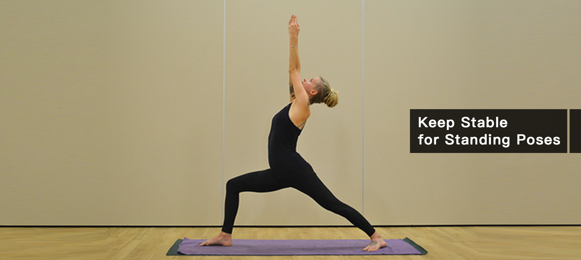 Keep Stable with Yoga Mat