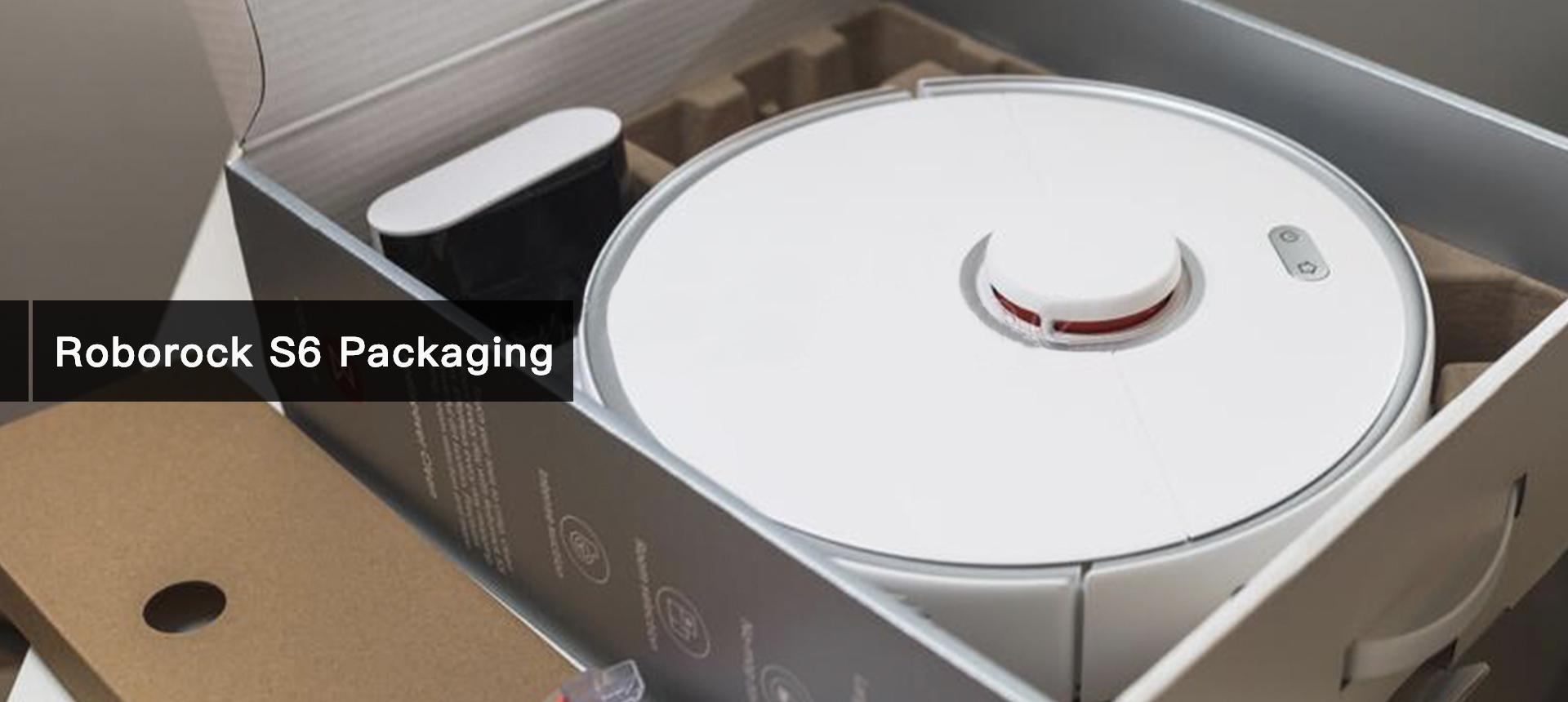 Roborock S6 Packaging