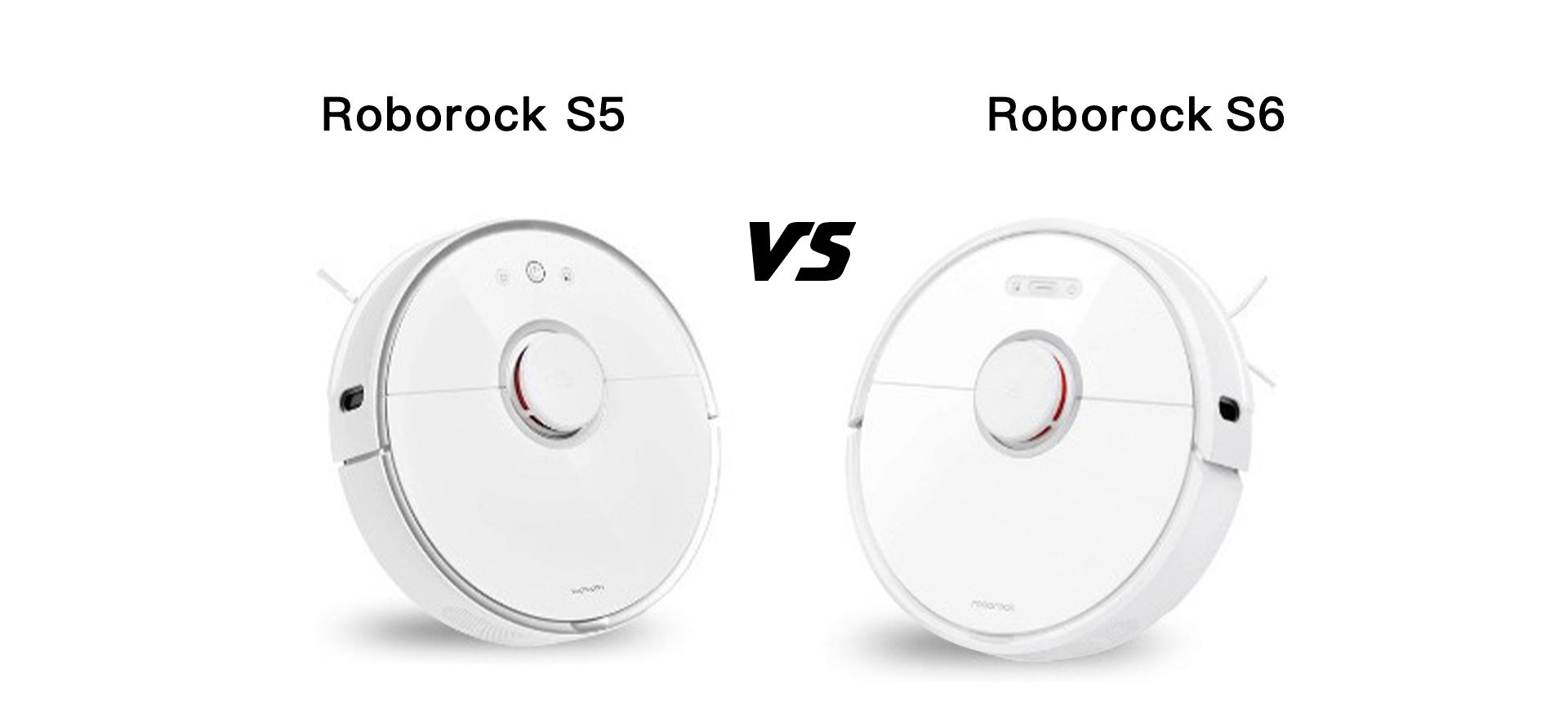 Roborock S6 vs. Roborock s5