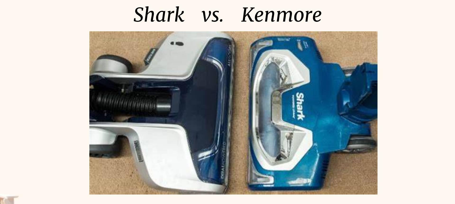 Shark vs. Kenmore