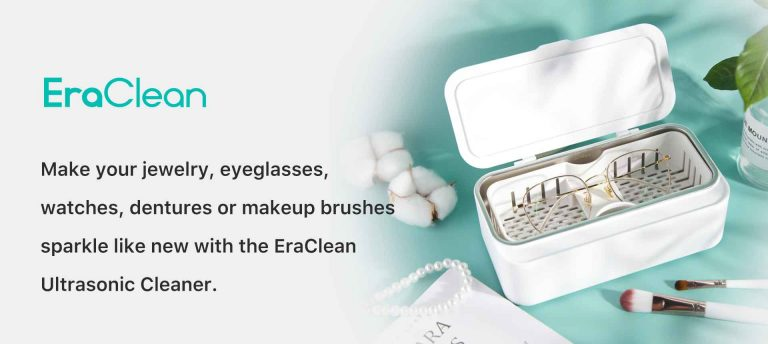 """TikTok""""oursquadhi5"""" Recommend EraClean Ultrasonic Cleaner"""