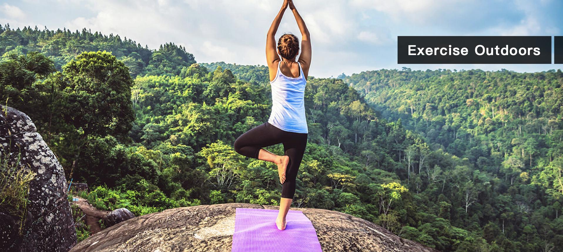 Traveling yoga mat