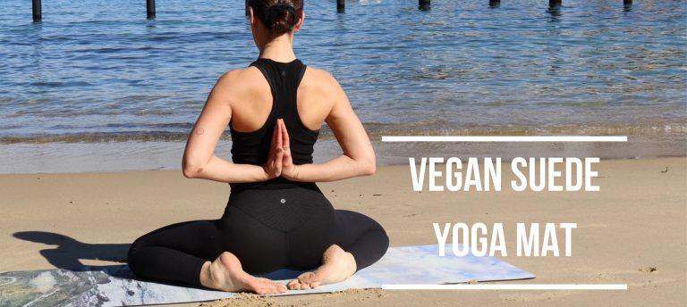 Vegan Suede Yoga Mat