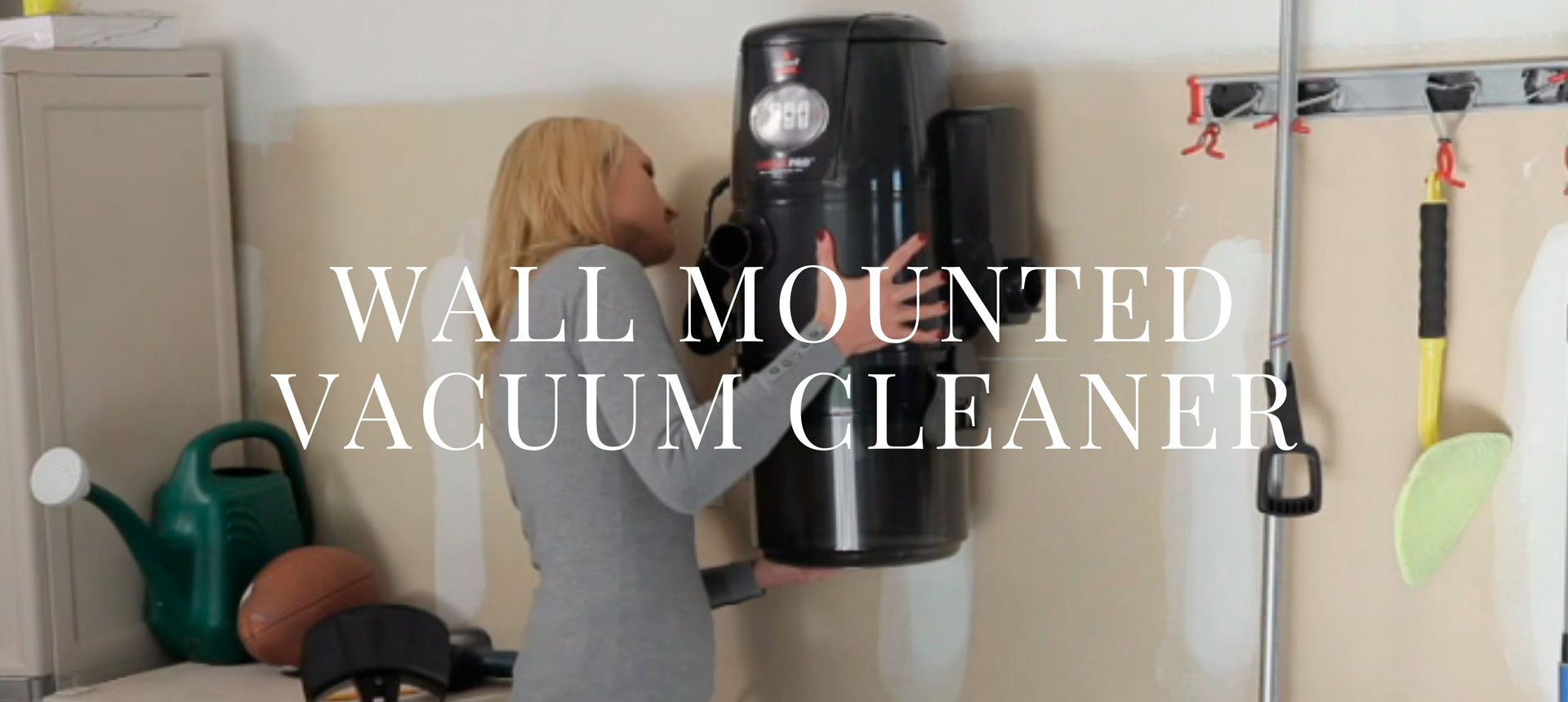 Wall Mounted Vacuum Cleaner