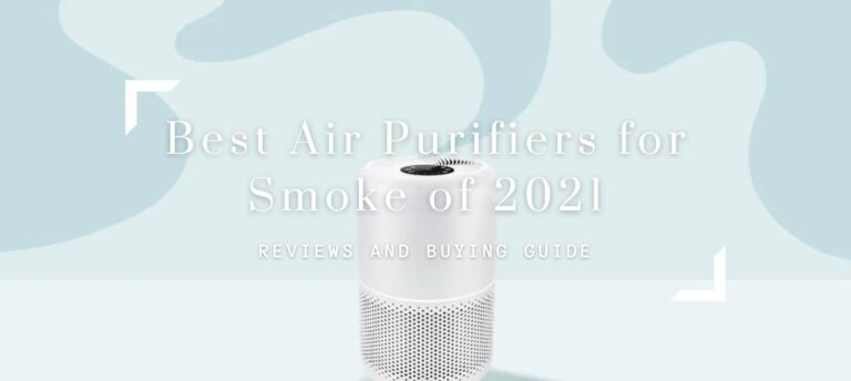 Best Air Purifiers for Smoke of 2021