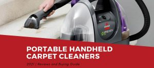 Best Portable Handheld Carpet Cleaners Reviews 2021
