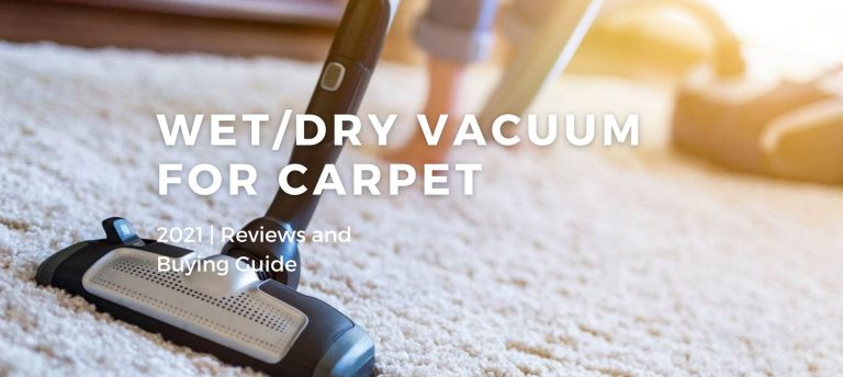 Best Wet/Dry Vacuum Cleaners For Carpet 2021